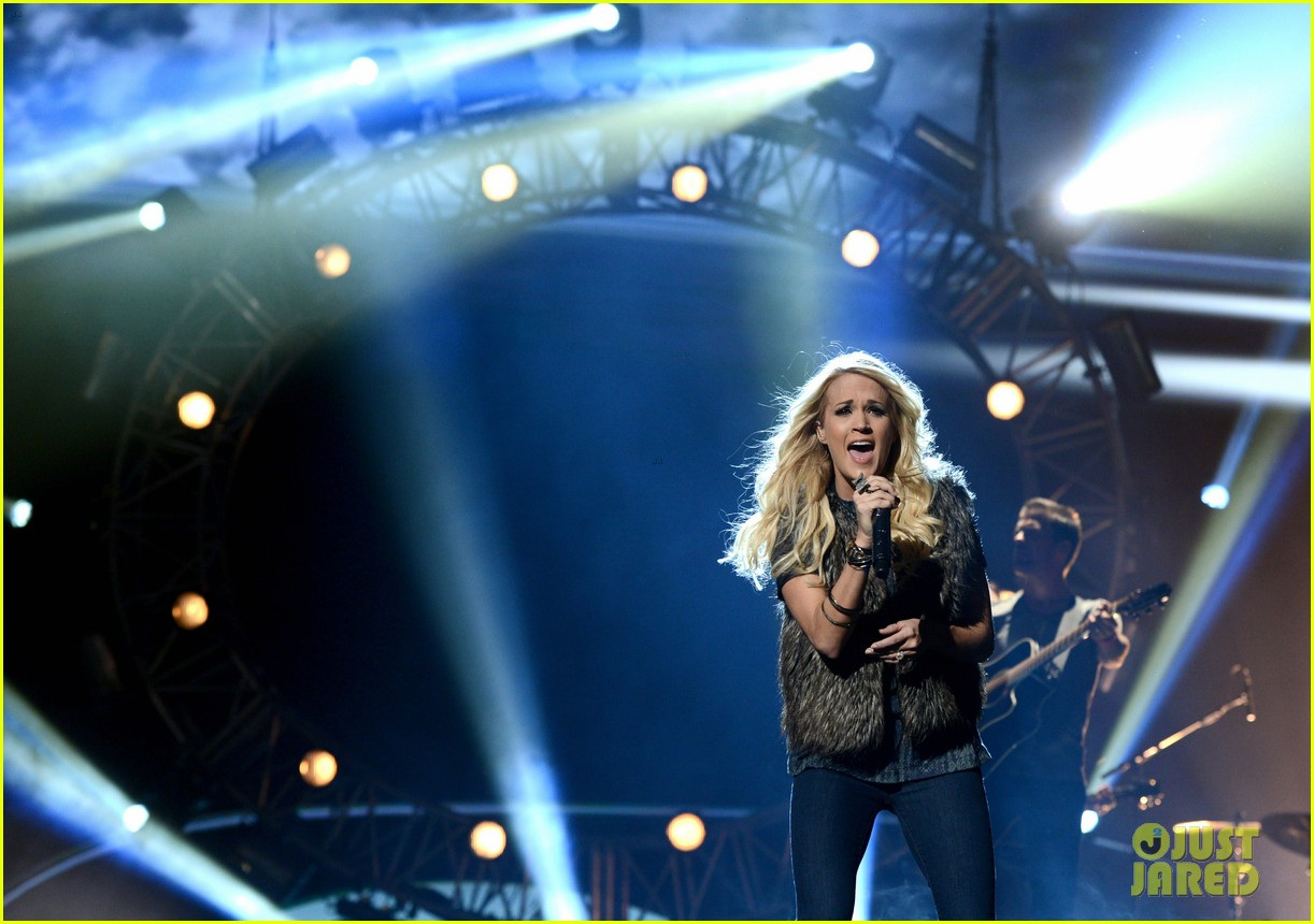 carrie underwood amas rehearsals 2012 102759871