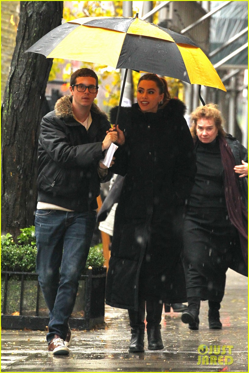 sofia vergara fading gigolo filming 032765955