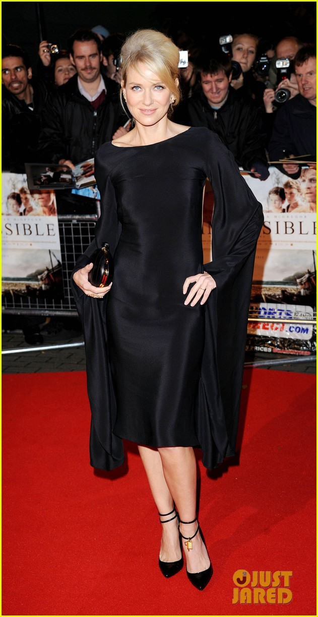 naomi watts backless dress at impossible premiere 102760904