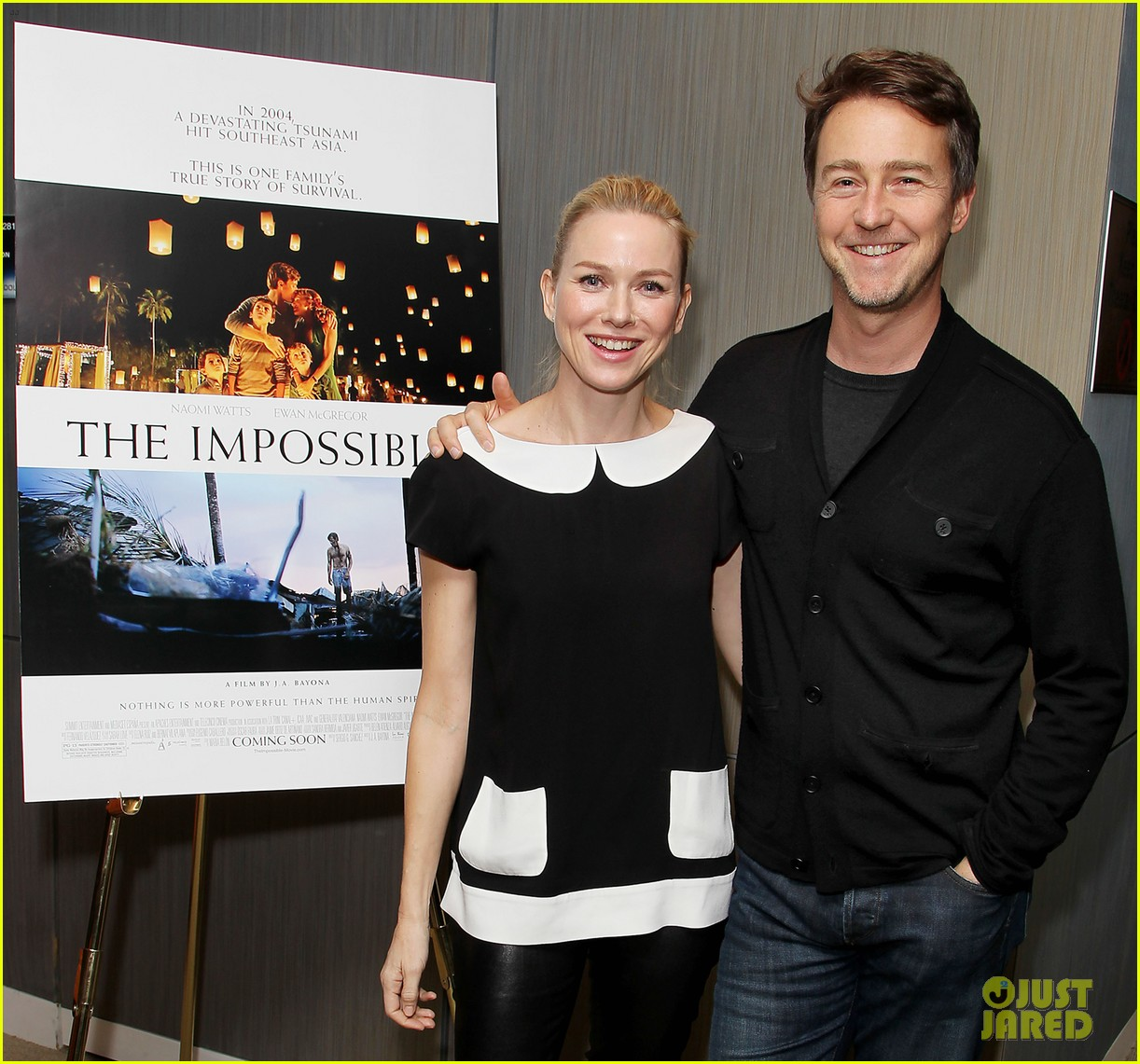 naomi watts edward norton the impossible screening 022765684