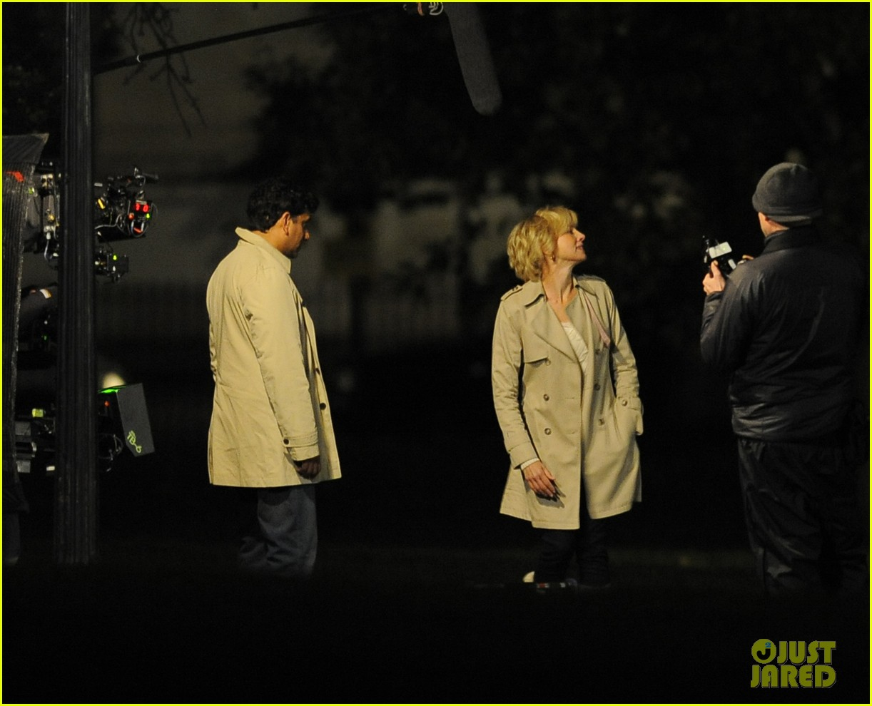 naomi watts on set of princess diana biopic 11