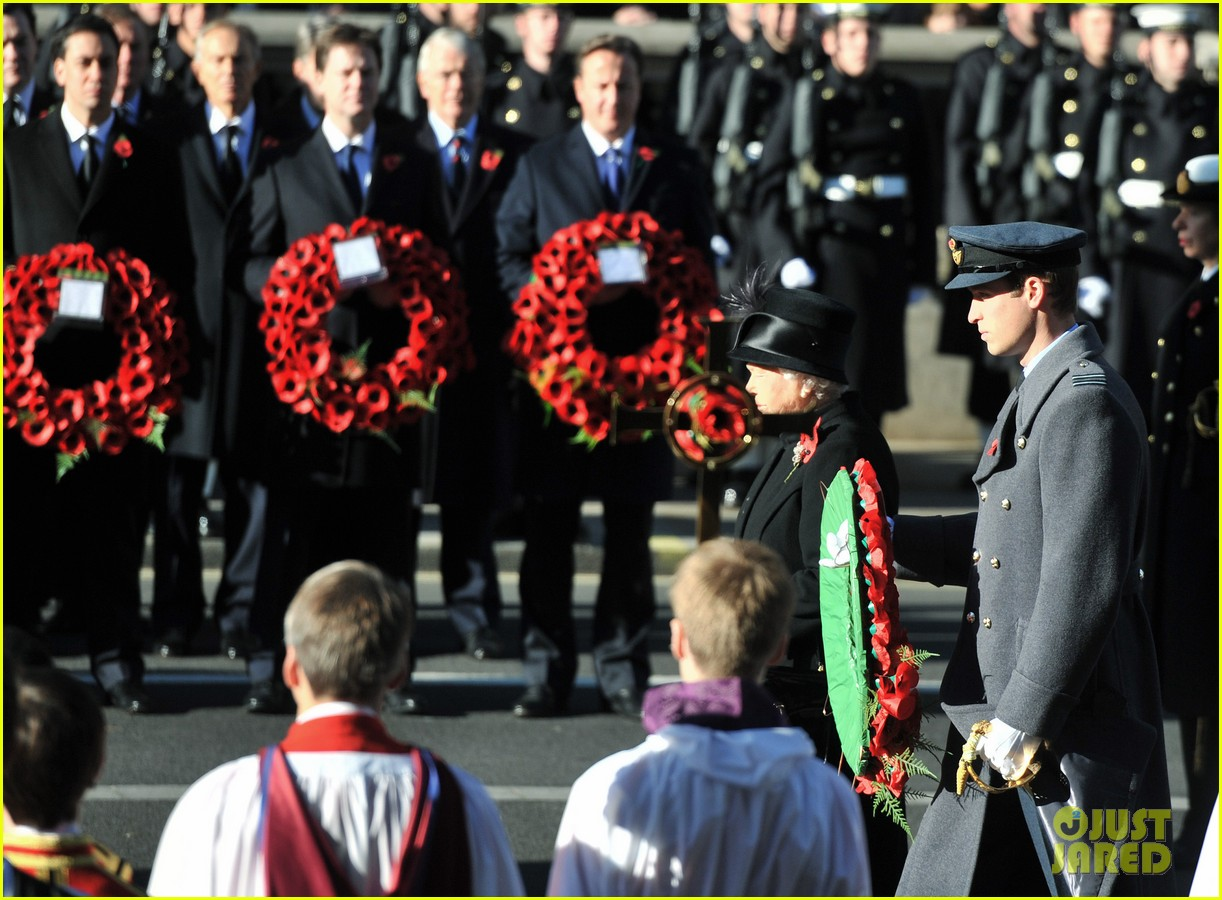 prince william duchess kate remembrance sunday observations 072755270