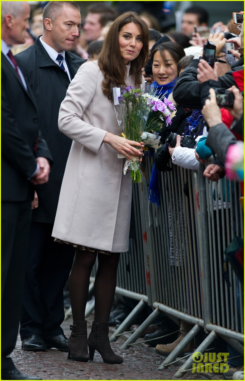 prince william duchess kate cambridge senate house visit 12