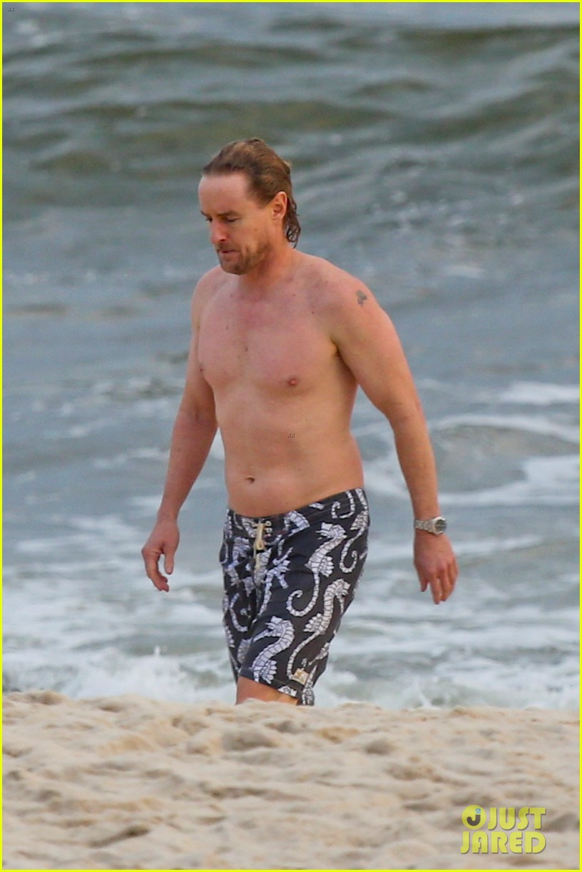 owen wilson shirtless in rio 152765592