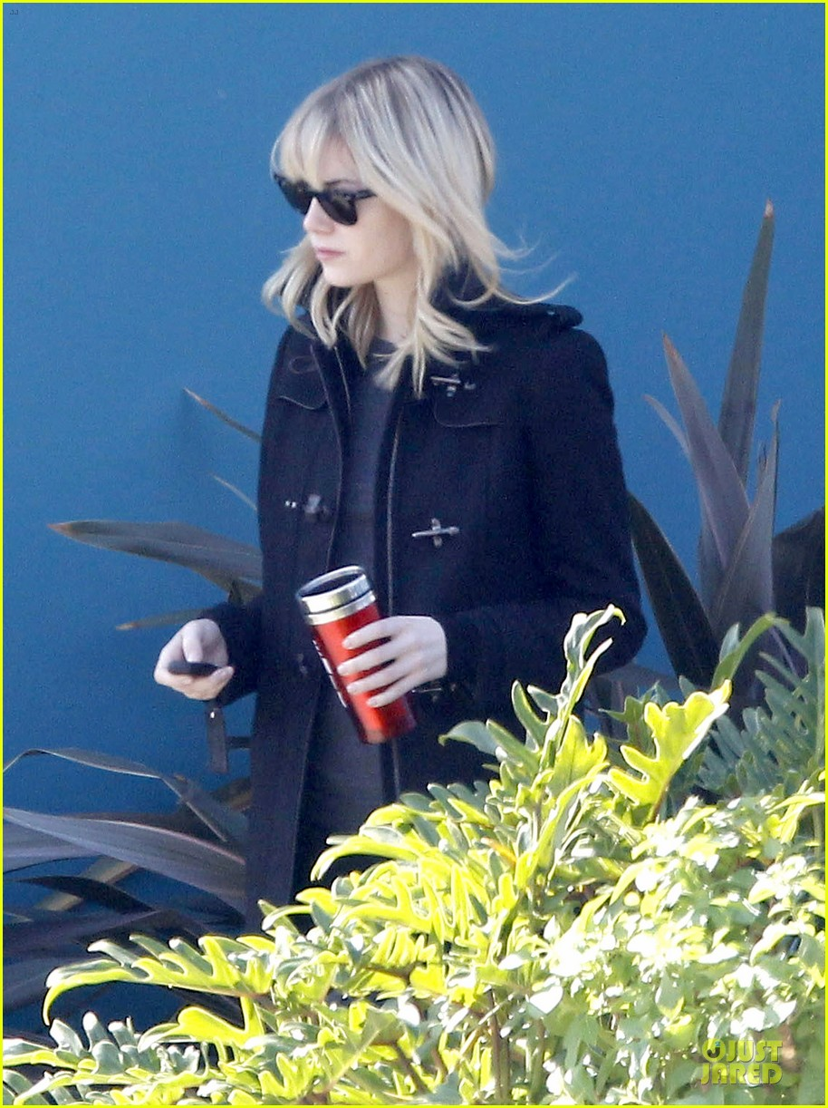 emma stone andrew garfield west hollywood work out pair 072750412