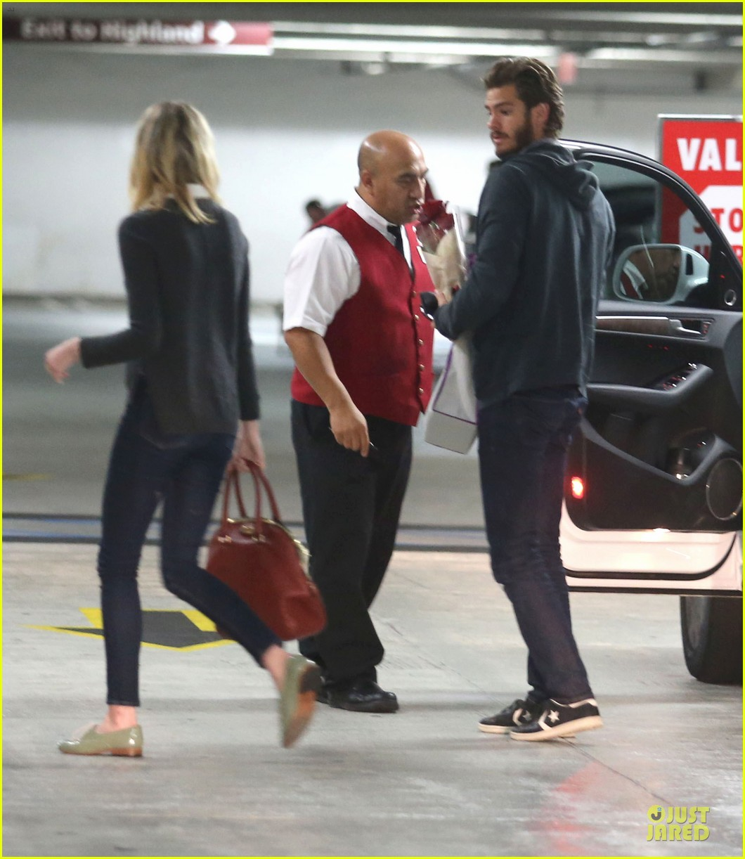emma stone andrew garfield west hollywood work out pair 202750425