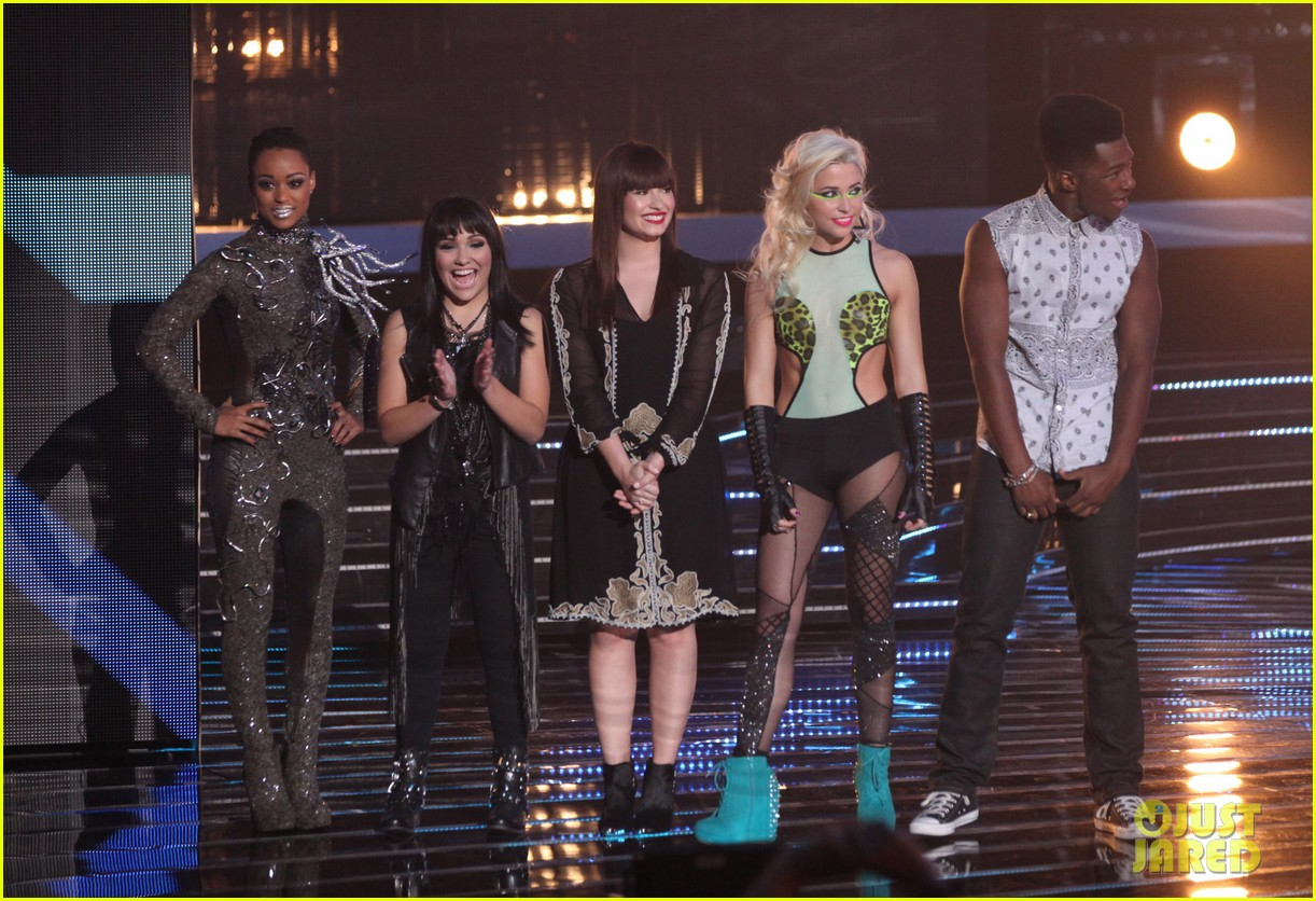 britney spears demi lovato x factor top 16 recap 032749690