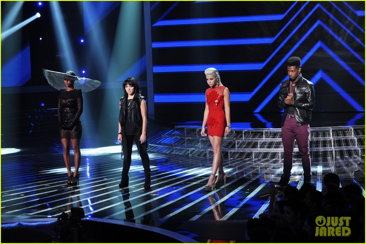 britney spears demi lovato x factor top 16 recap 242749711