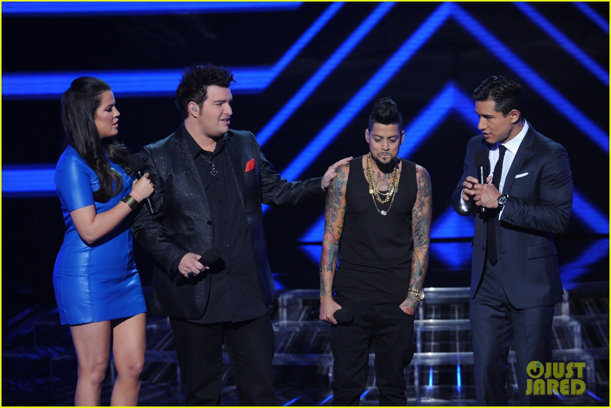 britney spears demi lovato x factor top 16 recap 29