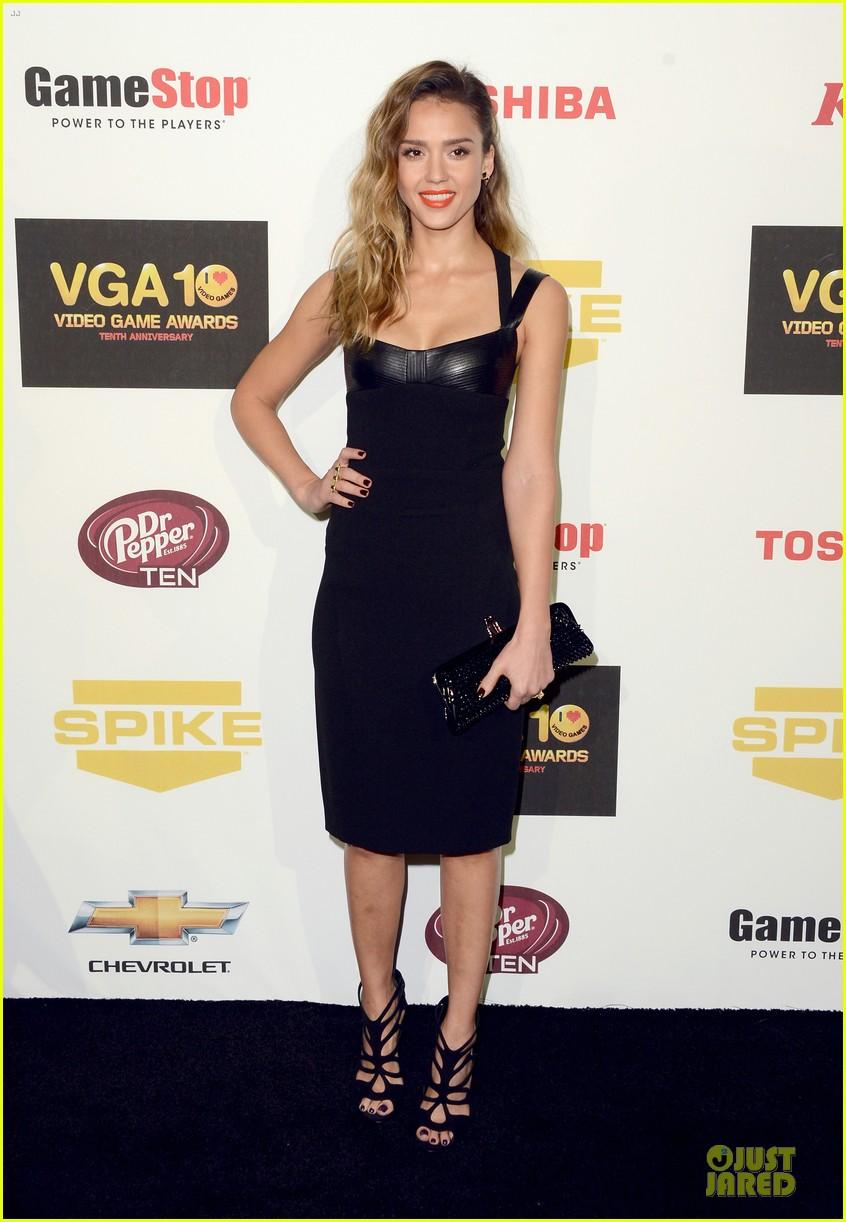 jessica alba spike tv video game awards 012771605