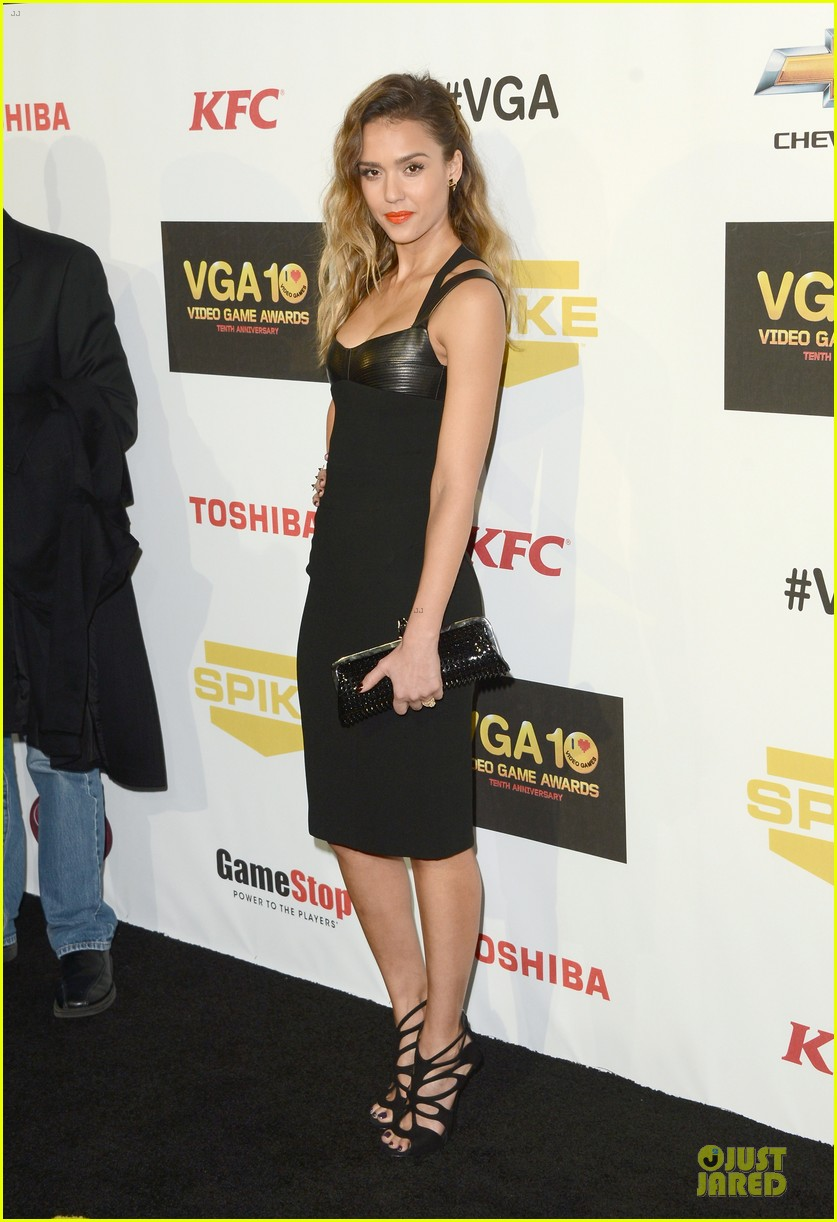 jessica alba spike tv video game awards 14
