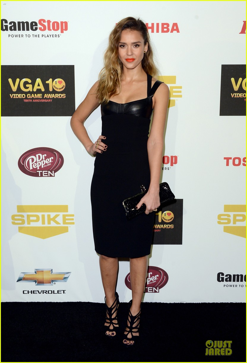 jessica alba spike tv video game awards 162771620