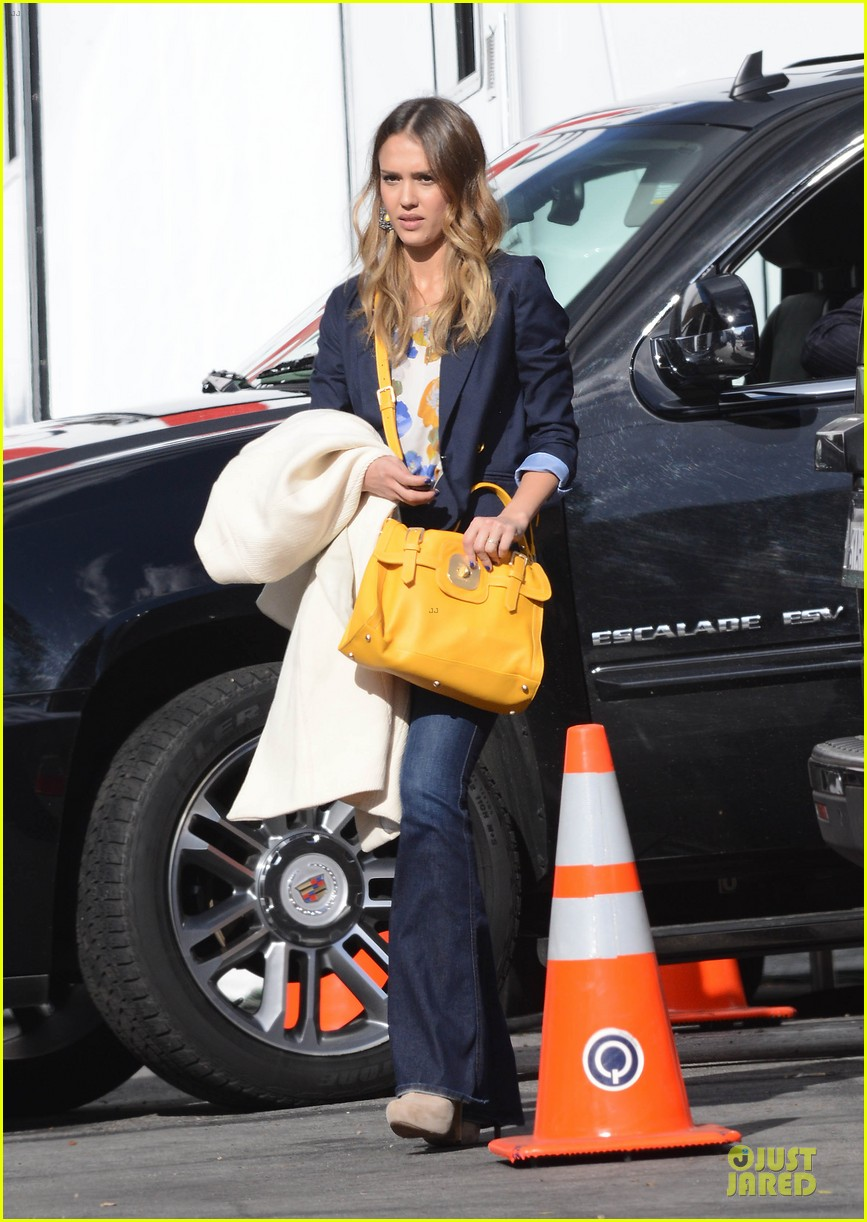 jessica alba hollywood film studio stop 152778220