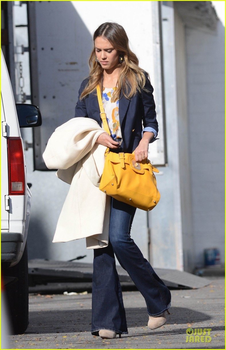 jessica alba hollywood film studio stop 172778222