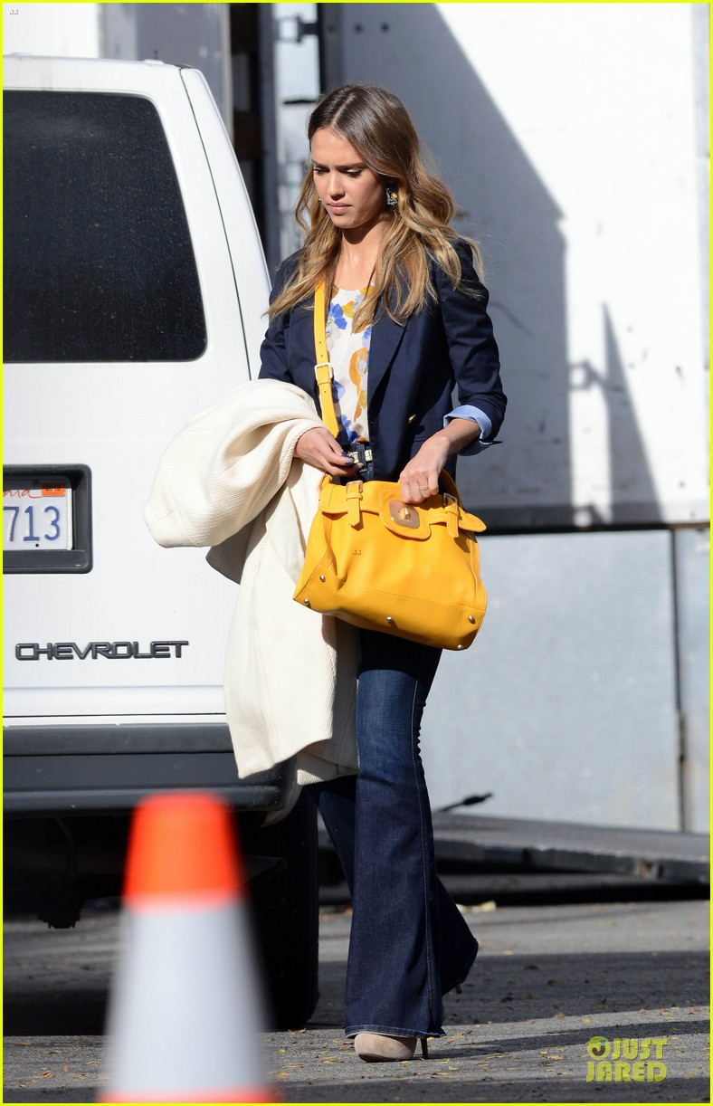 jessica alba hollywood film studio stop 182778223