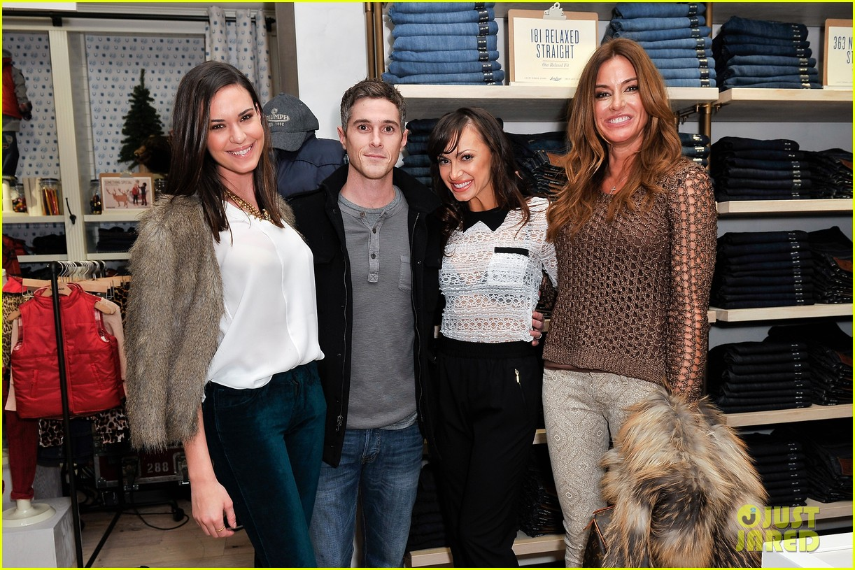 dave annable lucky brand store opening with odette 092770304