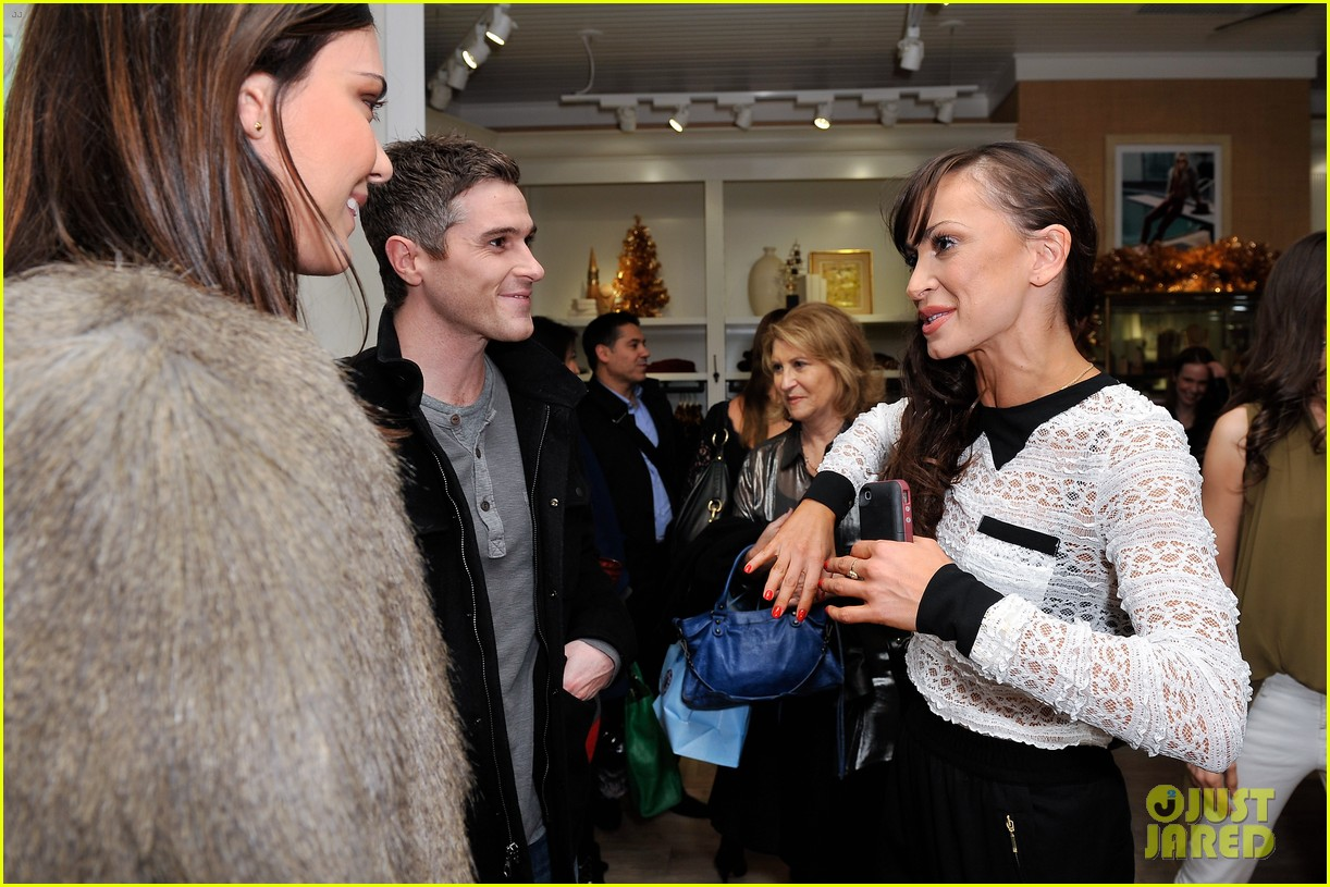 dave annable lucky brand store opening with odette 132770308