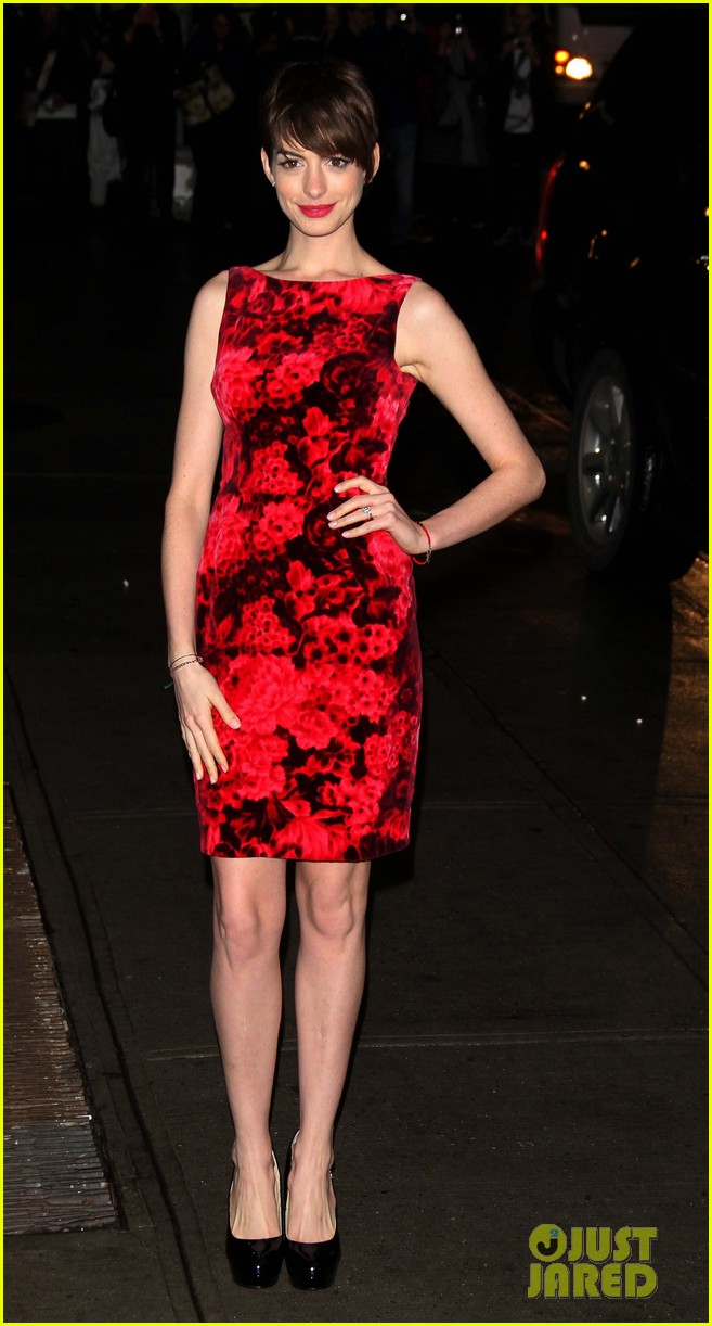 anne hathaway les miserables new york premiere 202773275