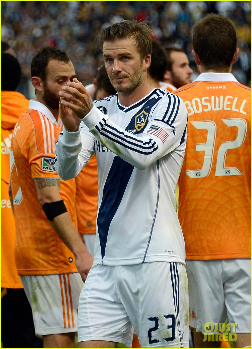 david beckham celebrates final galaxy win with his sons 21