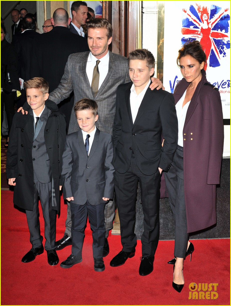 victoria beckham viva forever with david the boys 032773797