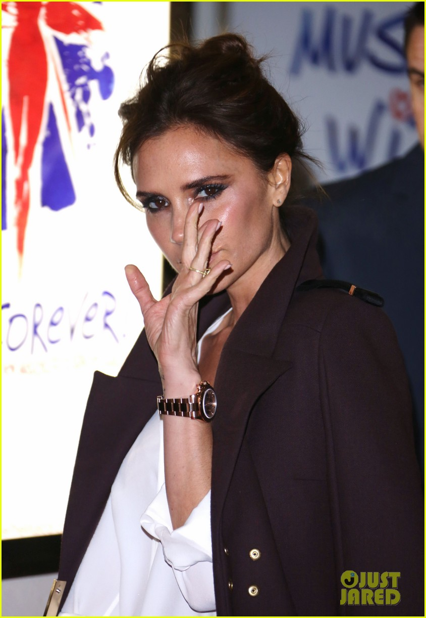 victoria beckham viva forever with david the boys 14