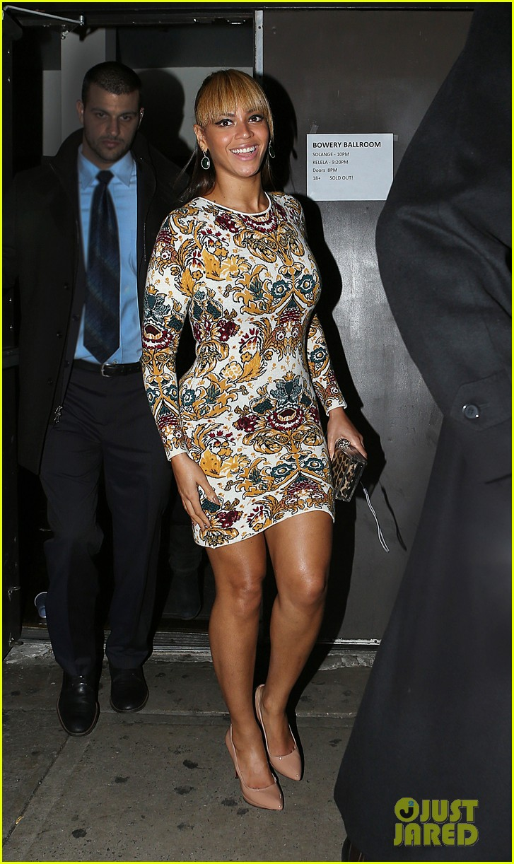 beyonce supports sister solange at concert kick off in nyc 012774542