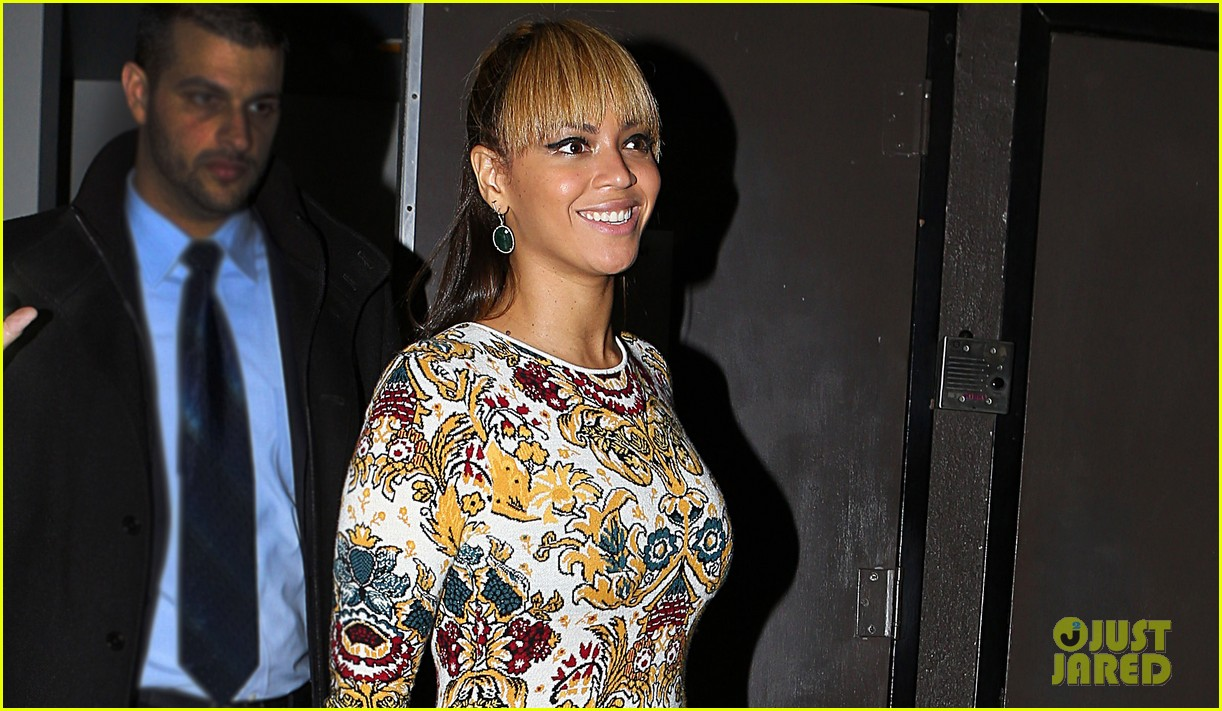 beyonce supports sister solange at concert kick off in nyc 022774543