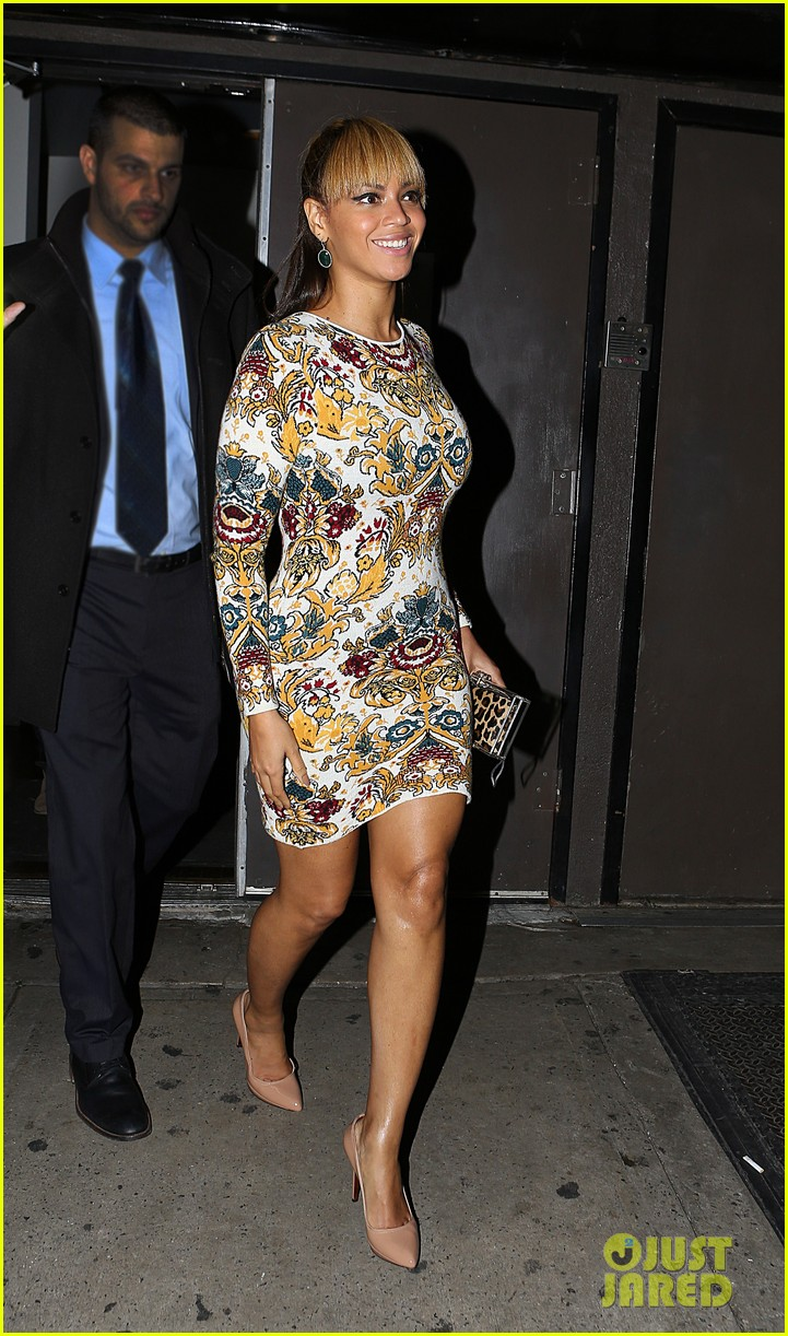 beyonce supports sister solange at concert kick off in nyc 052774546