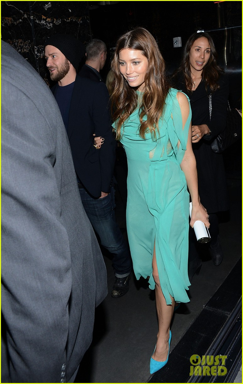 jessica biel justin timberlake playing for keeps premiere after party 012770091