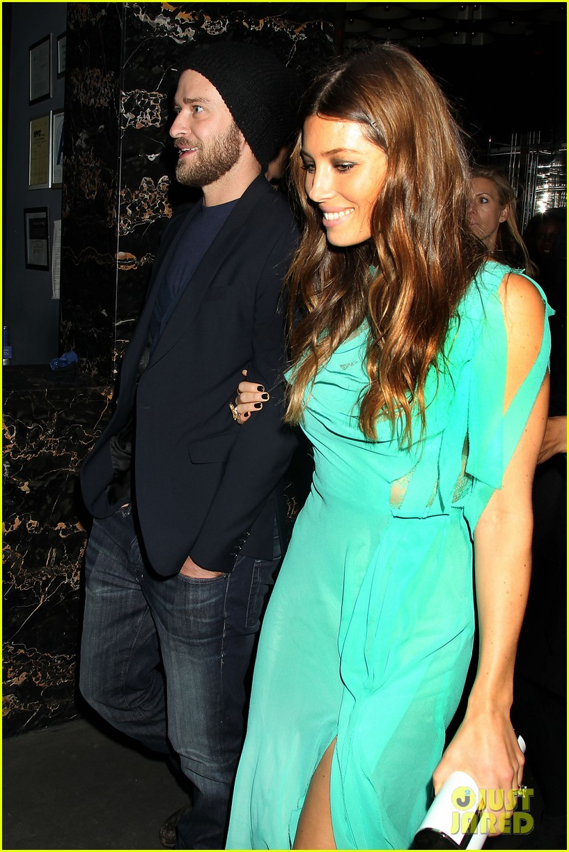 jessica biel justin timberlake playing for keeps premiere after party 02