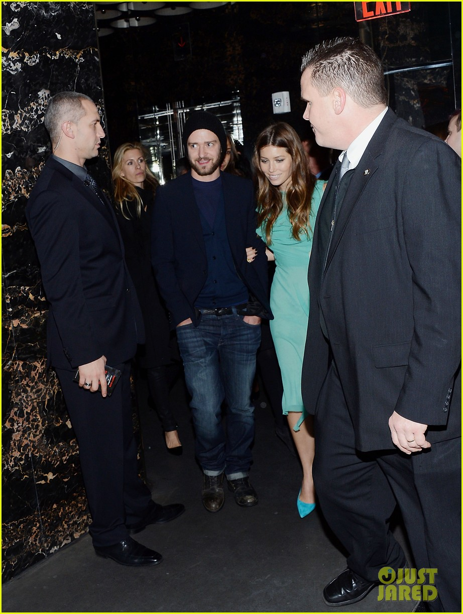 jessica biel justin timberlake playing for keeps premiere after party 062770096