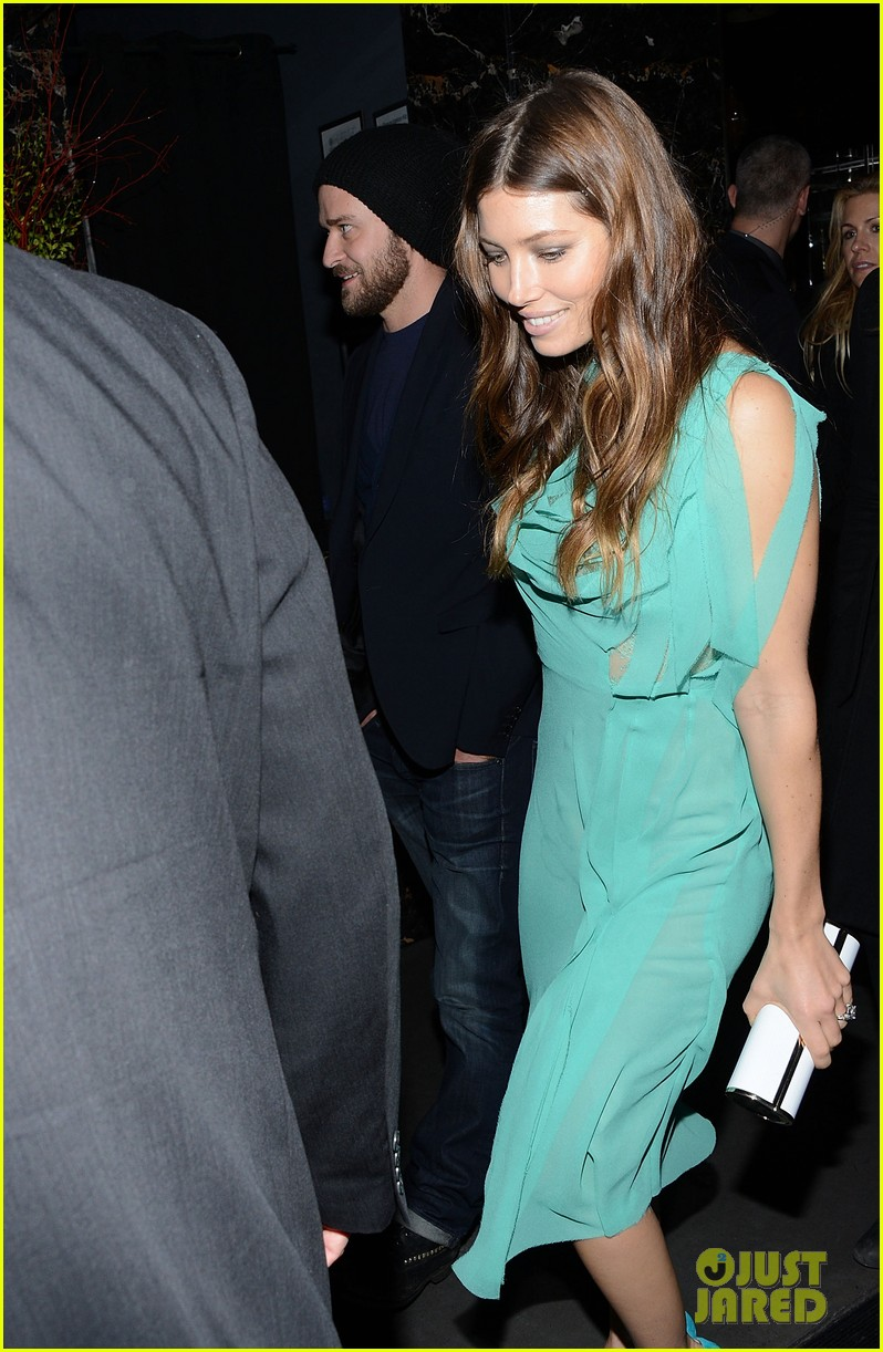 jessica biel justin timberlake playing for keeps premiere after party 072770097