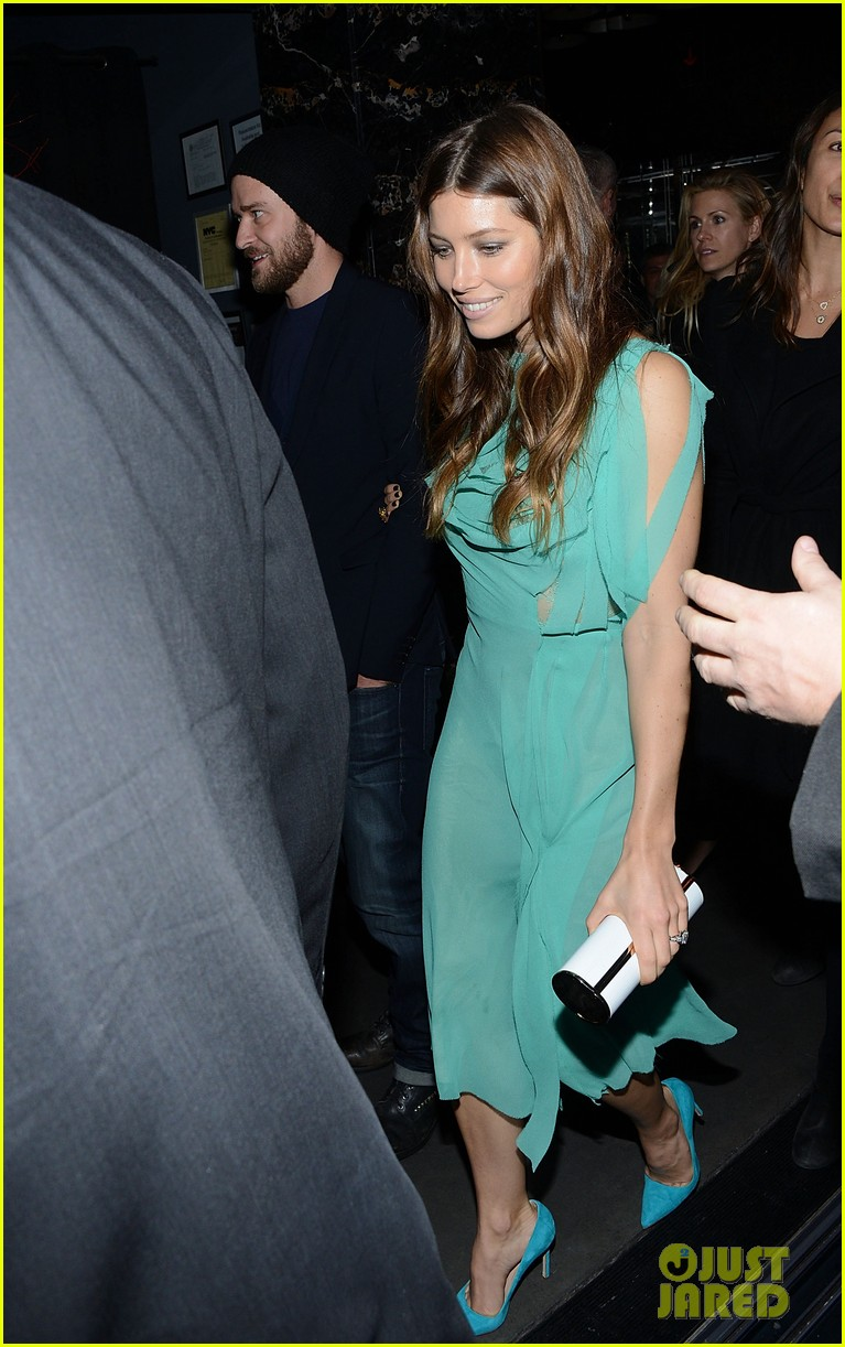 jessica biel justin timberlake playing for keeps premiere after party 082770098