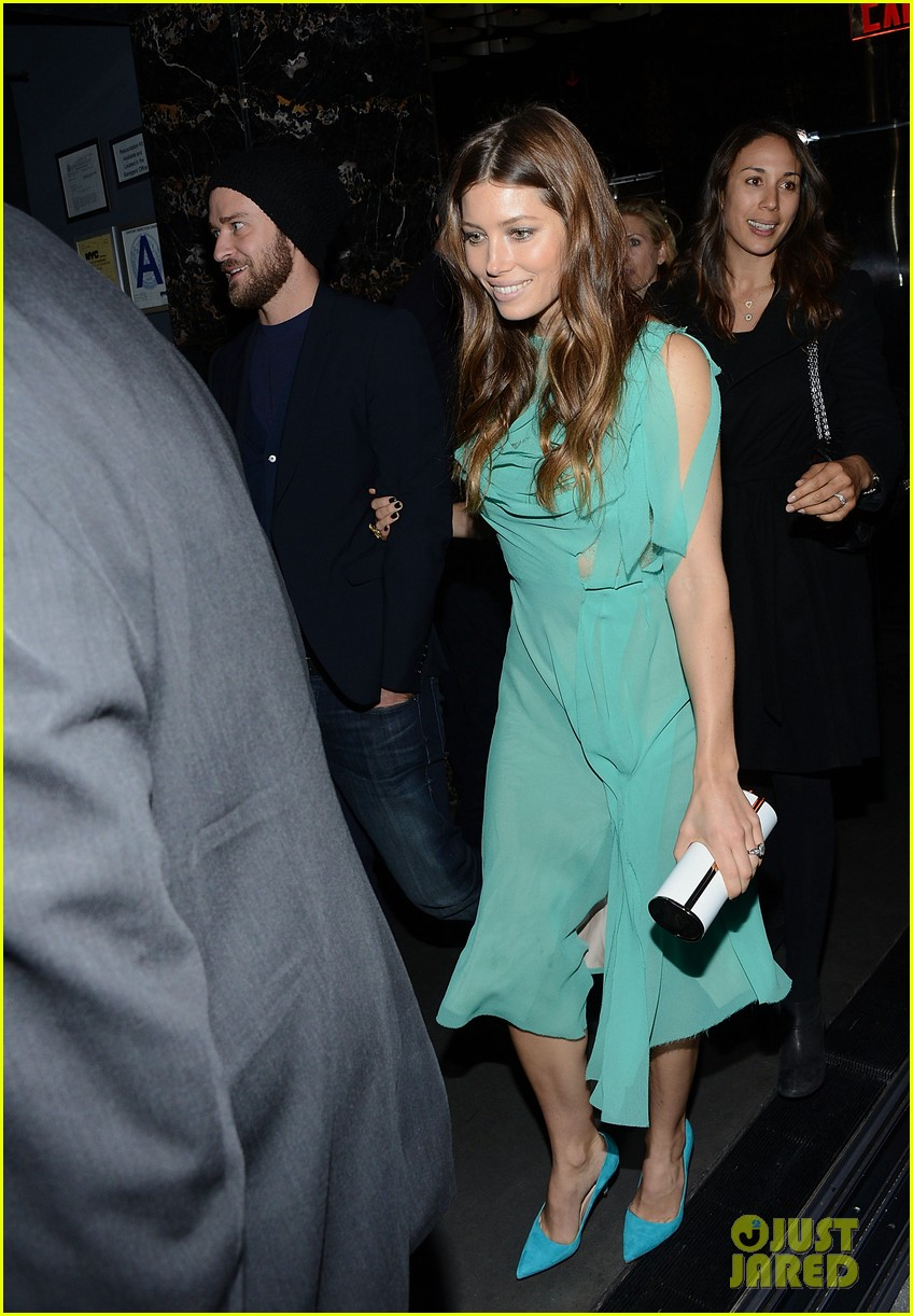 jessica biel justin timberlake playing for keeps premiere after party 092770099