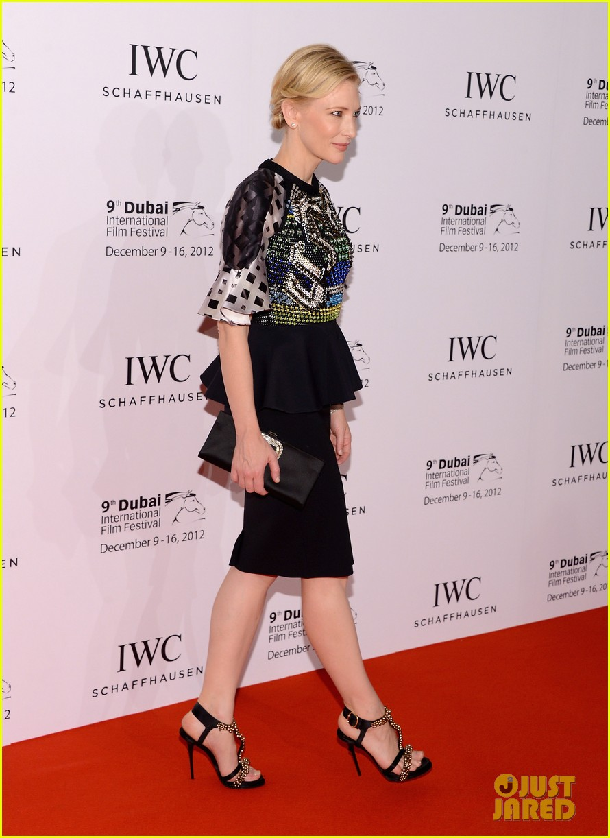 cate blanchett filmmaker award gala dinner in dubai 112773057