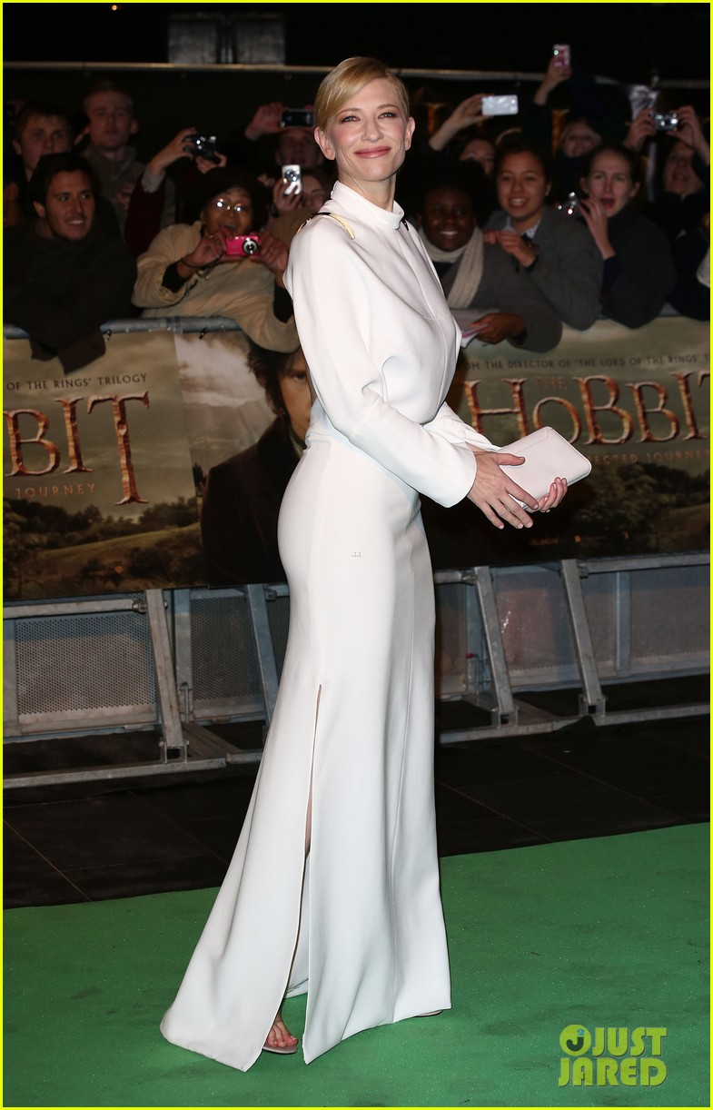 cate blanchett the hobbit london premiere 012774566