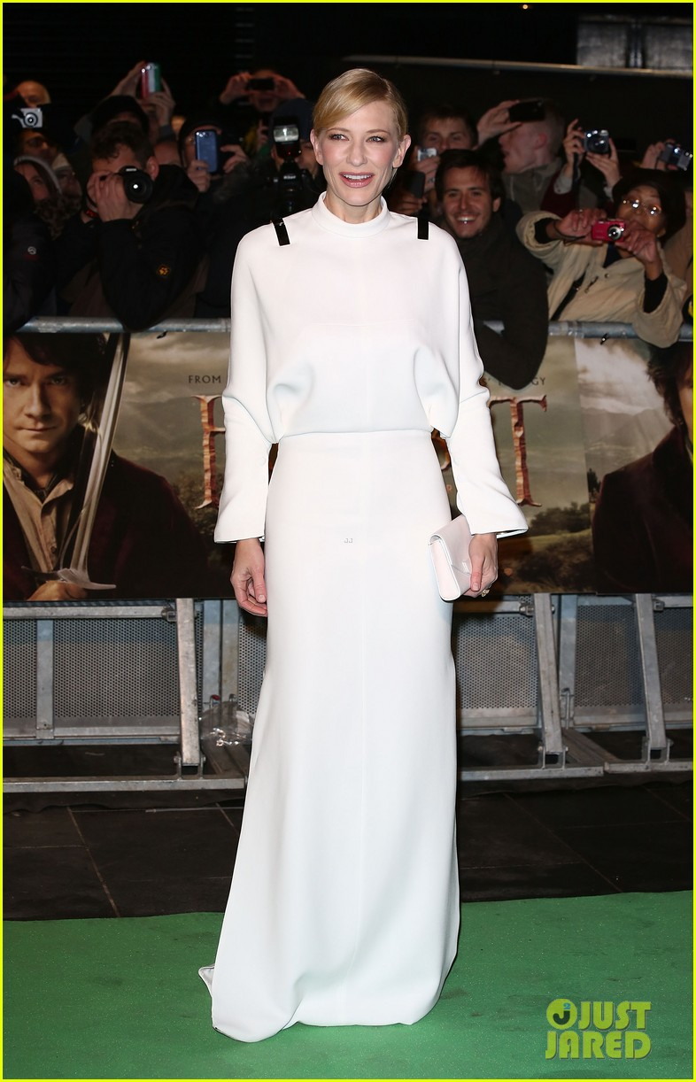 cate blanchett the hobbit london premiere 042774569