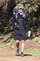 orlando bloom runyon canyon hike with flynn 01