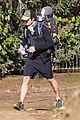 orlando bloom runyon canyon hike with flynn 28