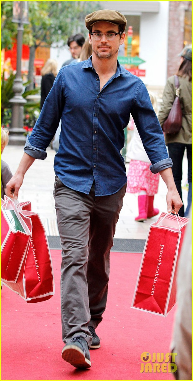 matt bomer shopping the grove 032775088