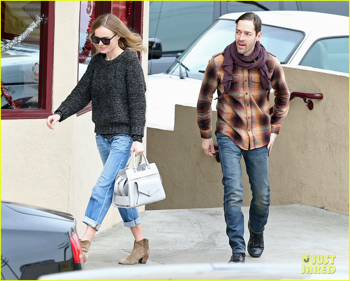 kate bosworth michael polish fatburger lunch 042779786