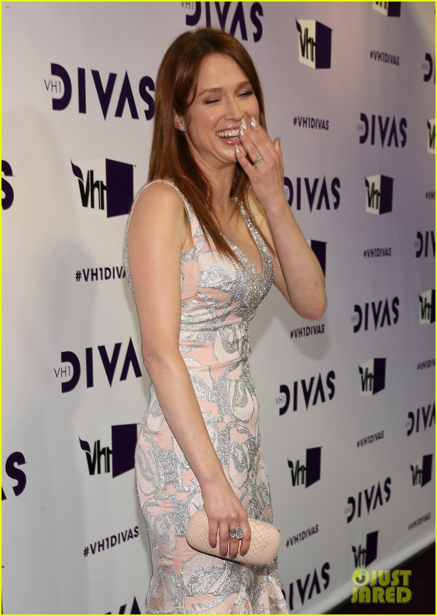 brandy ellie kemper vh1 divas 2012 red carpet 11