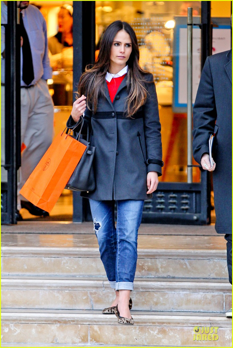 jordana brewster holiday shopping at barneys new york 032776500