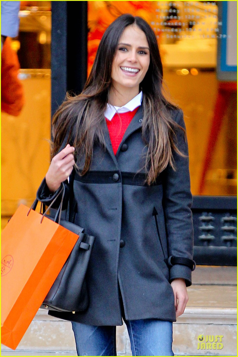 jordana brewster holiday shopping at barneys new york 062776503