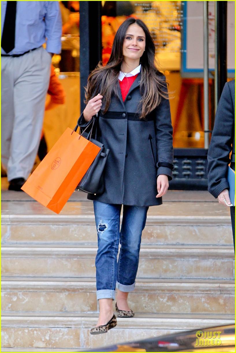 jordana brewster holiday shopping at barneys new york 072776504