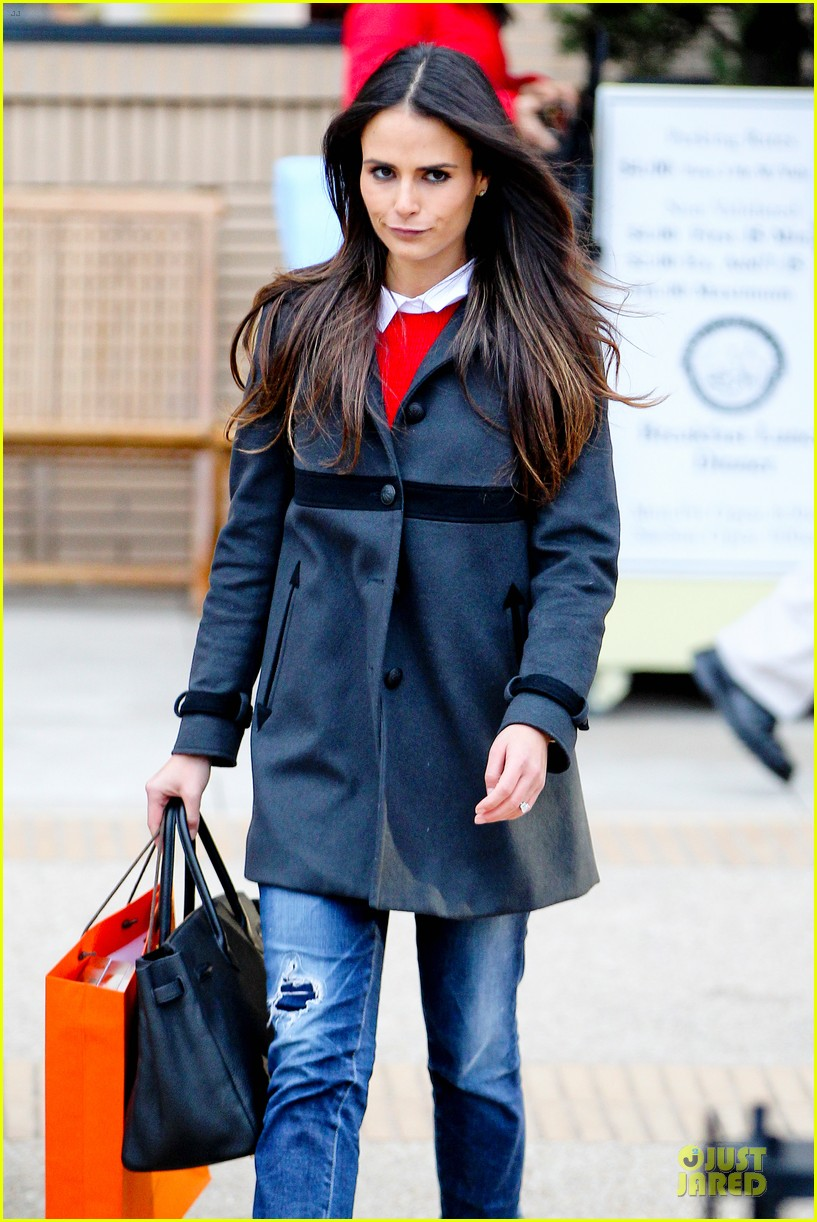 jordana brewster holiday shopping at barneys new york 112776508