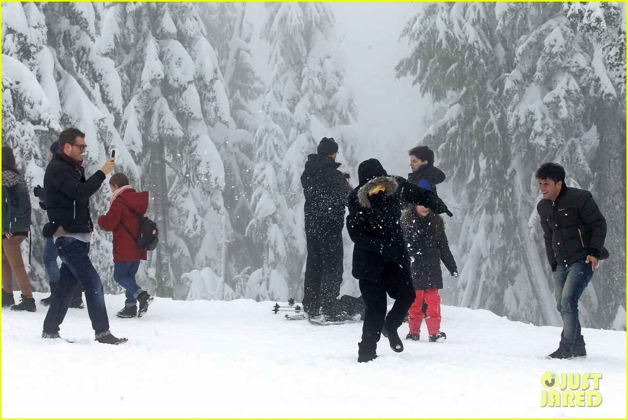 michael buble luisana lopilato snowy sweethearts 152781642