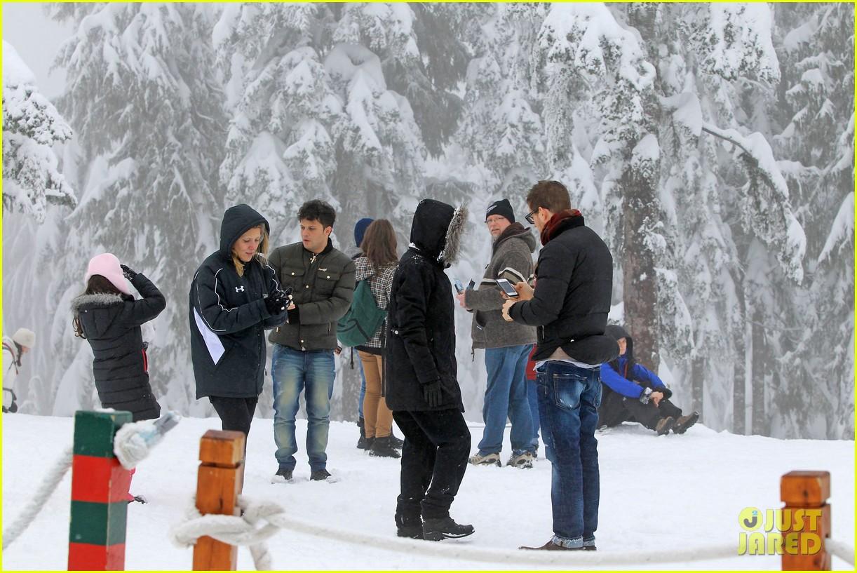 michael buble luisana lopilato snowy sweethearts 182781645