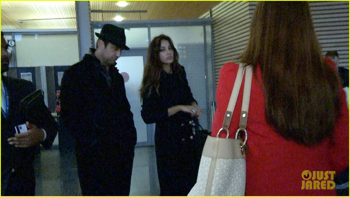 gerard butler norway arrival with madalina ghenea 032772717