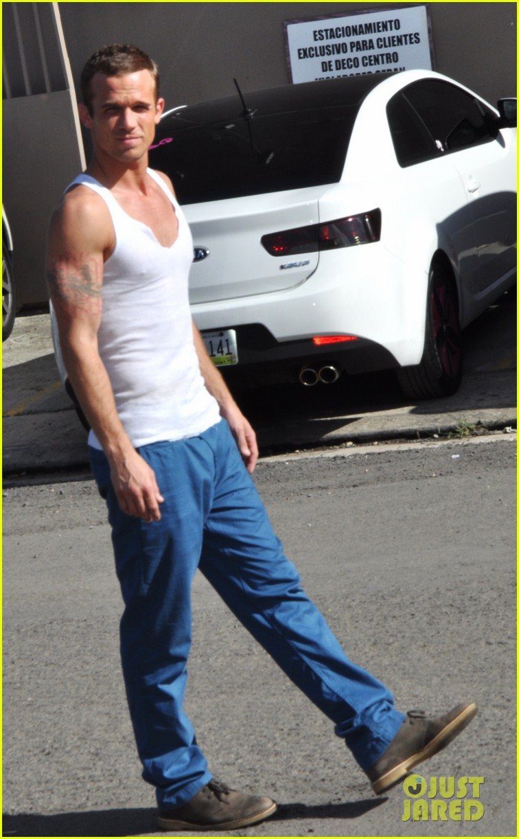 cam gigandet in the blood begins filming 02